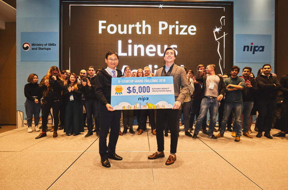 Fourth Prize [K-Startup Grand Challenge 2018 Demo Day]