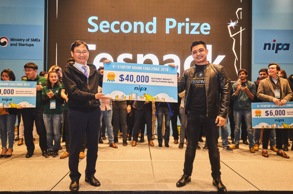 Second Prize [K-Startup Grand Challenge 2018 Demo Day]